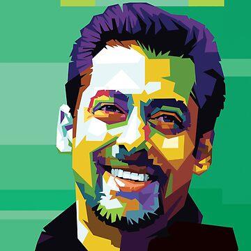 Salman Khan Art by bollywood-tees