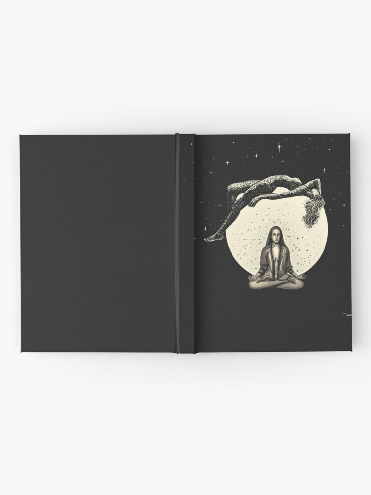 Alternate view of Lunar Meditation Hardcover Journal
