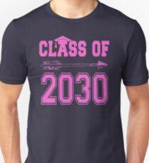 Class of 2030 Pink Girl T Shirt Unisex T-Shirt