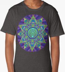 Psychedelic Bassnectar Sacred Mandala Trippy Hallucinogenic  Long T-Shirt