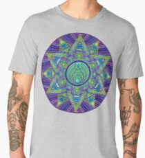 Psychedelic Bassnectar Sacred Mandala Trippy Hallucinogenic  Men's Premium T-Shirt