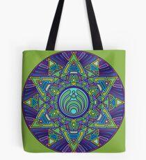 Psychedelic Bassnectar Sacred Mandala Trippy Hallucinogenic  Tote Bag