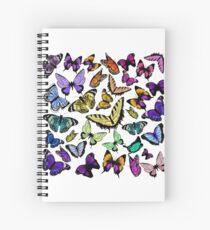 Schmetterling Spiral Notebook
