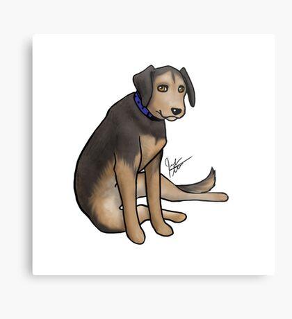 Scout the Saddest Puppy Metal Print