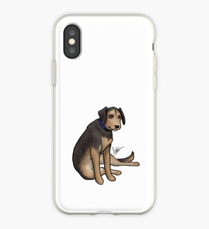 Scout the Saddest Puppy iPhone Case