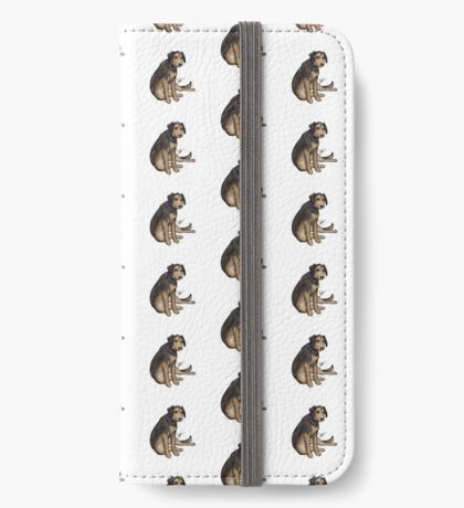 Scout the Saddest Puppy iPhone Wallet