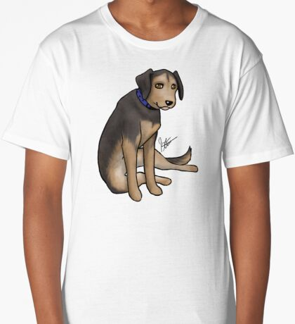 Scout the Saddest Puppy Long T-Shirt