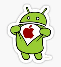 Super Apple Sticker