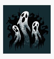 Spooky Ghosts for Halloween Photographic Print