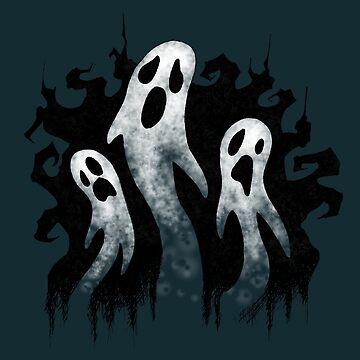 Spooky Ghosts for Halloween by SuspendedDreams