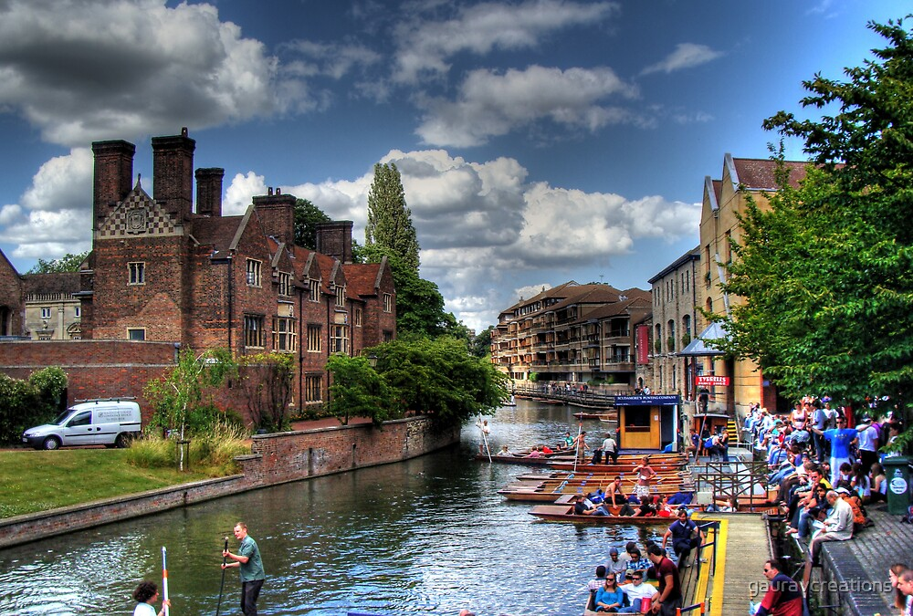 Cambridge Punting by Gaurav Dhup