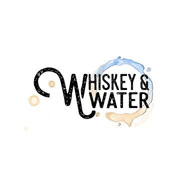 Whiskey & Water Logo by whiskeyandwater