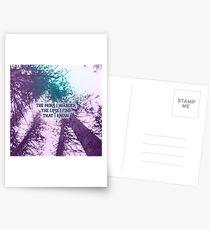 The More I Wander Postcards