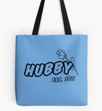 Hubby Est. 2011 Tote Bag