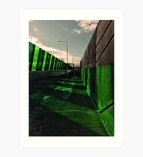 Green Transport Art Print