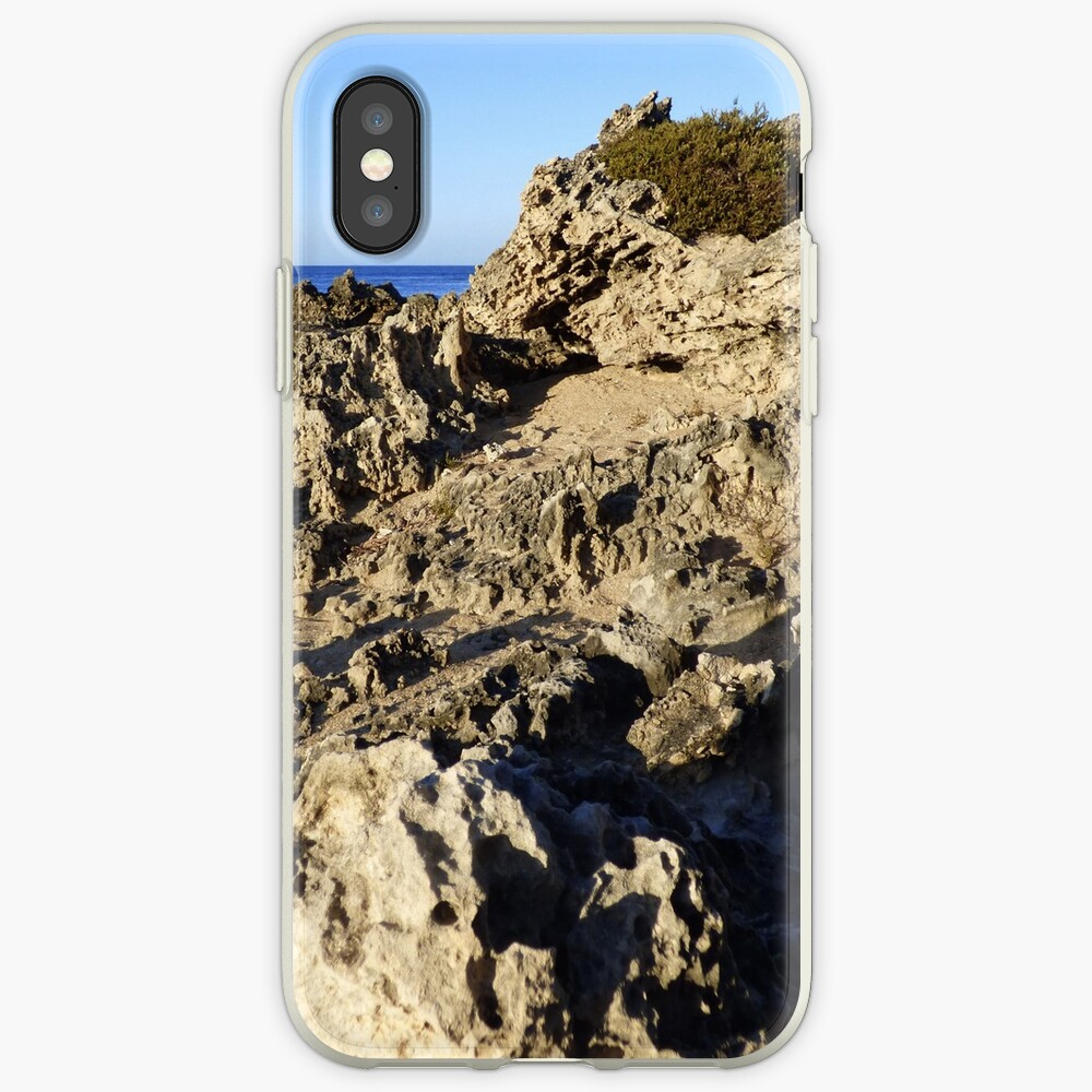Light and Shadows on the Beach iPhone Case & Cover