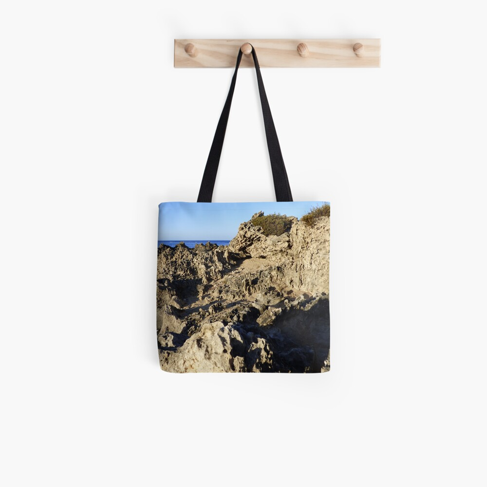 Light and Shadows on the Beach Tote Bag