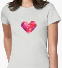 Prism Heart Women's Fitted T-Shirt