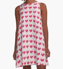 Prism Heart A-Line Dress