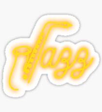 Jazz Music Sticker