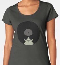 Funky Music Afro Vinyl Records Women's Premium T-Shirt