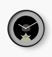 Funky Music Afro Vinyl Records Clock