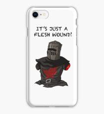 It's just a flesh wound   Cult tv Best of British   Monty Python iPhone Case/Skin