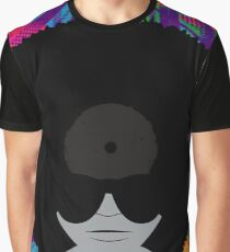 Funky Vinyl Records - Music Art Graphic T-Shirt