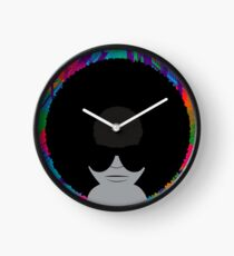 Funky Vinyl Records - Music Art Clock