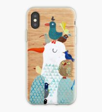 Bird king - Seagull iPhone Case