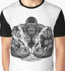 Funny Vegan Vegetarian Workout Gym Beast T-Shirt  Graphic T-Shirt