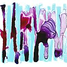 Purples Dripping by Cam Pentimone