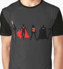 JL Minimalist Superhero Graphic Graphic T-Shirt