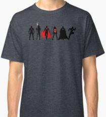 JL Minimalist Superhero Graphic Classic T-Shirt