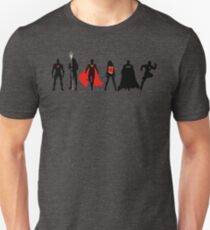 JL Minimalist Superhero Graphic T-Shirt