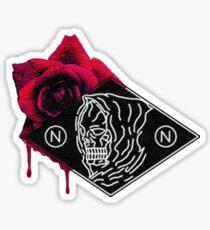 (N,N.)  Pain & Beauty. Sticker