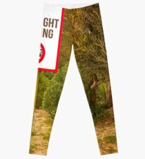 No Overnight Camping Leggings