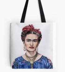 Tribute to Frida Kahlo Tote Bag