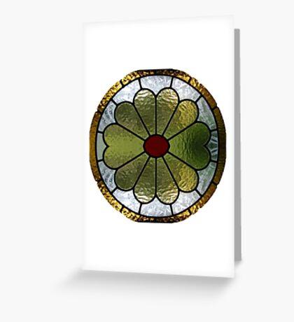 Bright Window Greeting Card