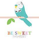 be sweet parakeet  by creativemonsoon