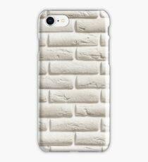White Brick | Pattern iPhone Case/Skin