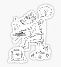Leonardo programming Sticker