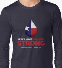 Peace Love Houston Strong - Hurricane Harvey T-Shirt