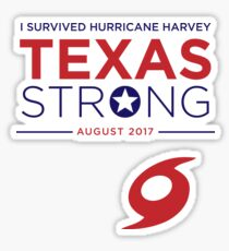 I survived the 2017 Texas Hurricane Season - Harvey Sticker