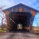 Chambers Road Bridge - Ohio by Terence Russell