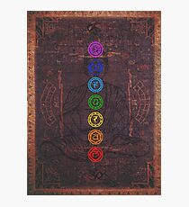 The Seven Chakras Photographic Print