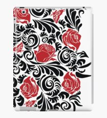 black red rose iPad Case/Skin