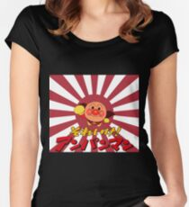 Anpanman Women's Fitted Scoop T-Shirt