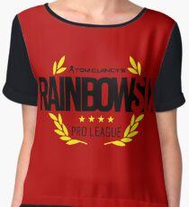 Rainbow six pro League Women's Chiffon Top