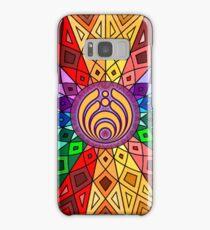 Bassnectar - Rainbow Geometric Mandala - Psychedelic Funkadelic Trippy Festival Hallucinogen  Samsung Galaxy Case/Skin